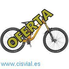 Barata bicicleta de motor