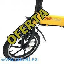 Barata bicicleta de ruedas anchas
