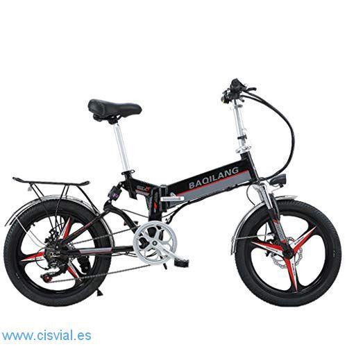 comprar online bicicleta plegable aluminio