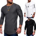 Compra Online de camiseta con cremallera para hombre en oferta