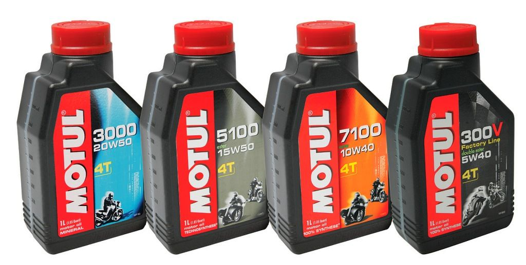 Aceites para moto 4t