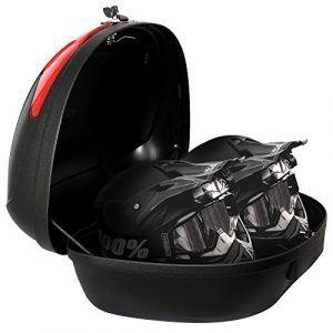 Baules para moto 2 cascos
