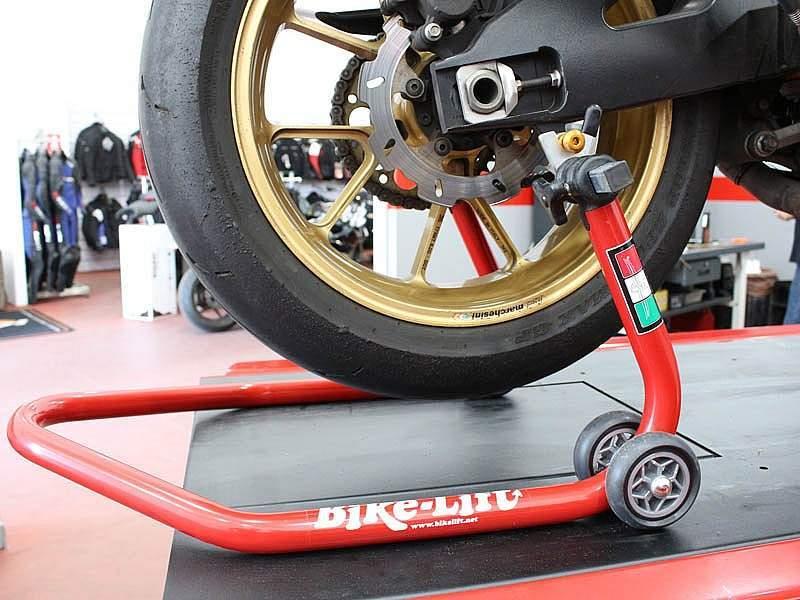 Caballetes para moto deportiva