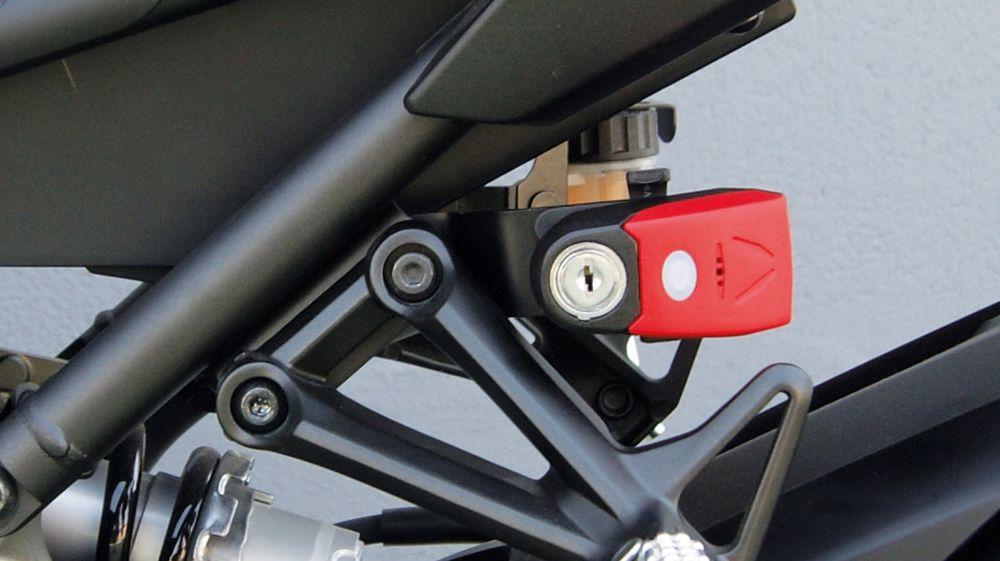 Candados de moto con soportes