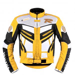Chaquetas de moto amarilla