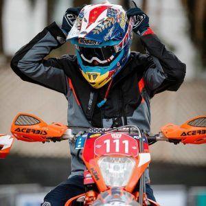 Cubremanos de moto cross