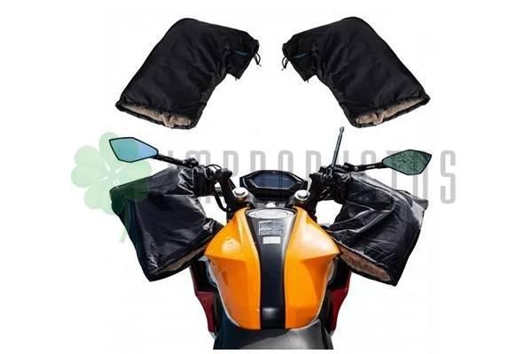 Cubremanos de moto de invierno