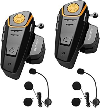 Intercomunicadores de moto con bluetooth