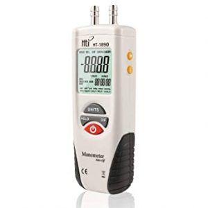 Manómetros digitales de gas