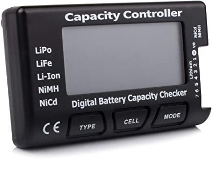 Medidor de baterías para lipo