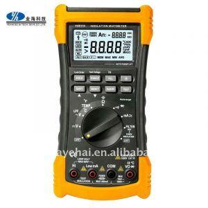 Multímetros digitales 1000v