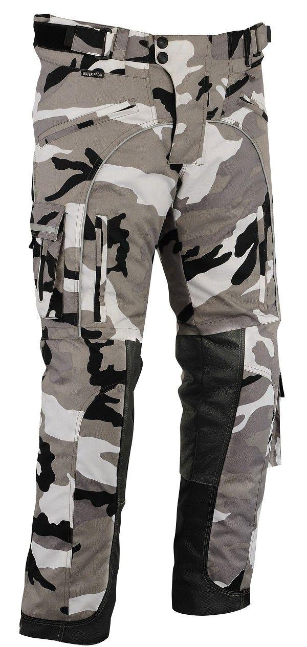 Pantalones de moto camuflado