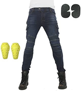 Pantalones vaquero de moto atack b